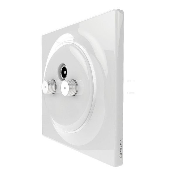 FIBARO Walli N TV-SAT Outlet 2